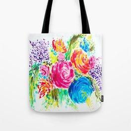 Emma's Garden Tote Bag