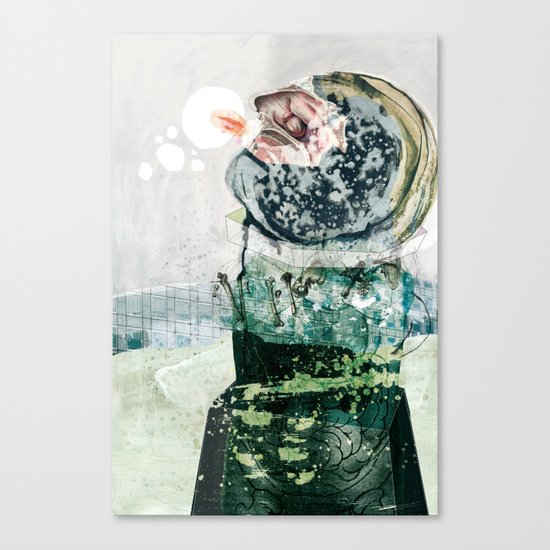 vitriol 3 Canvas Print