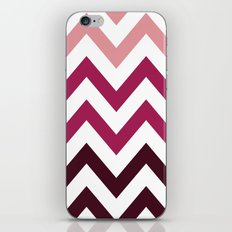 PINK FADE CHEVRON iPhone & iPod Skin