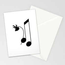 Note Vaulter Stationery Cards