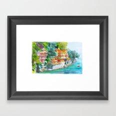 Dream place Framed Art Print