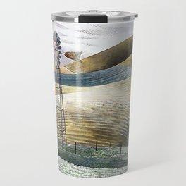 12,000pixel-500dpi - Eric Ravilious - Windmill - Digital Remastered Edition Travel Mug