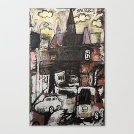 Bretch Canvas Print