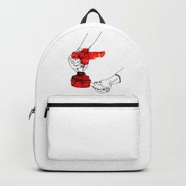 A Female Coffee Barista Backpack
