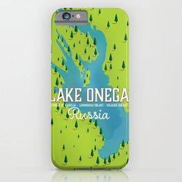Lake Onega, russia iPhone Case