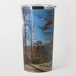 A beautiful day in the woods Travel Mug