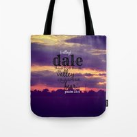 dale cooper Tote Bags featuring Dale by KimberosePhotography