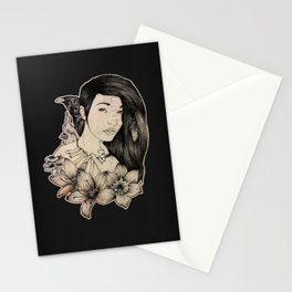 Plague Witch Stationery Cards