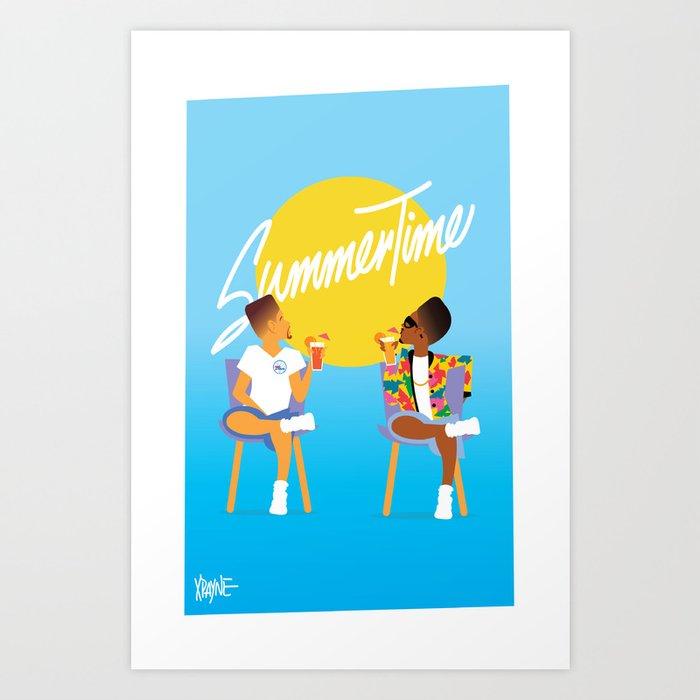 Summertime Kunstdrucke