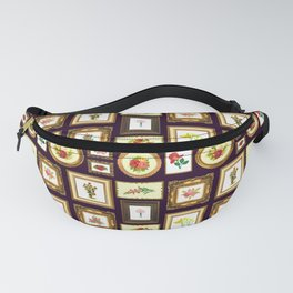 FRAMED FLORAL ART Fanny Pack