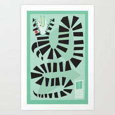 Sandworm Art Print