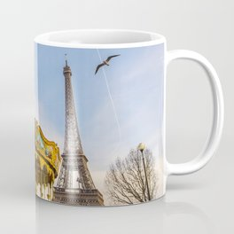 Eiffel Tower / Carrousel - Paris  Coffee Mug