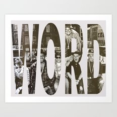 Word! Art Print
