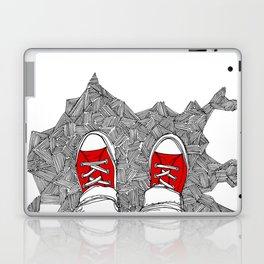 Selfie. Doodle. Laptop & iPad Skin