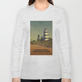 Cedar Dunes Provincial Park Long Sleeve T-shirt
