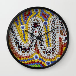 THE RAINBOW SERPENT DREAMTIME 2 Wall Clock