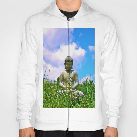Buddha Takes the Field Hoody