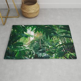 Greenery Jungle (Color) Rug