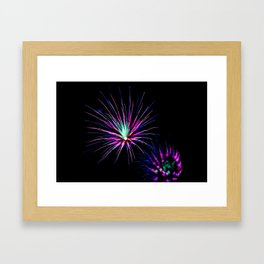 Firework Creations - Tulipfest 15 Framed Art Print