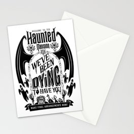 Haunted Mansion: Dying To Have You Stationery Cards
