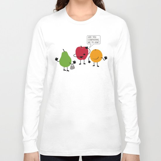 Like Apples and Oranges Long Sleeve T-shirt