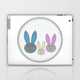 Bunny family Laptop & iPad Skin
