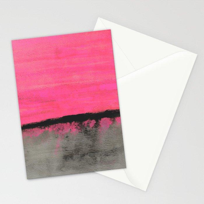 Sunset Horizon Stationery Cards