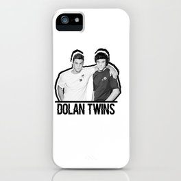 Dolan Twins // B&W iPhone Case
