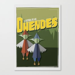 The legend of Duendes Canvas Print