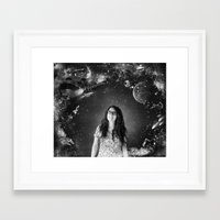 sci fi Framed Art Prints featuring Sci-Fi by Melissa Smith