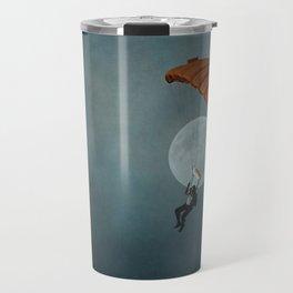 Skydiver's Moon Travel Mug