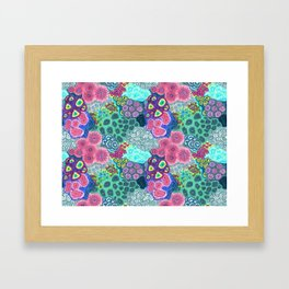Coral Reef Framed Art Print
