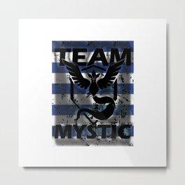 Team Mystic Strip Metal Print