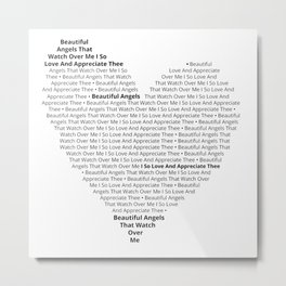 Beautiful Angels' Heart Metal Print