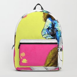 That don't impress me none | Screen Girl | Print Backpack