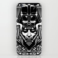 vader iPhone & iPod Skins featuring Vader by OneAppleInBox