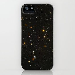 Hubble Space Telescope Field of Galaxies iPhone Case