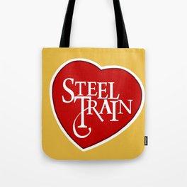 Steel Train Tote Bag