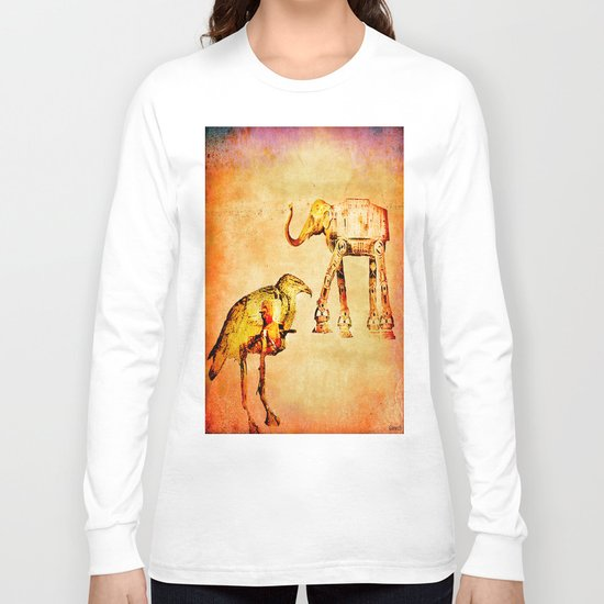 The empire of animals attacks Long Sleeve T-shirt