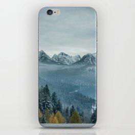 The view - Neuschwanstin casle iPhone Skin