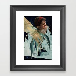 Dust Devils Whirl Where Tigers Once Roamed Framed Art Print