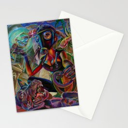 Lady Extinction Stationery Cards