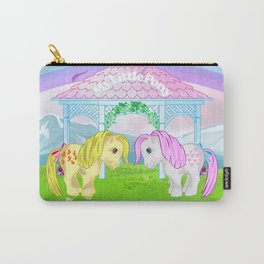 g1 my little pony snuzzle and butterscotch Carry-All Pouch