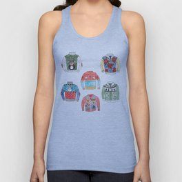 Ugly Sweaters Unisex Tank Top
