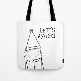Scandinavian Hygge illustration art Tote Bag