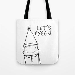 Scandinavian Hygge illustration art Tote Bag