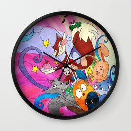 from a little box Wall Clock