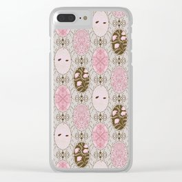 Vintage pattern Clear iPhone Case