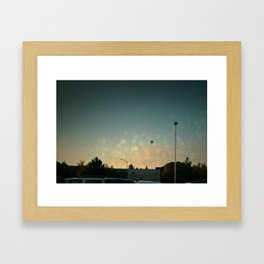 We All Have Dreams of Being Blissful and Light like Hot Air Balloons Framed Art Print
