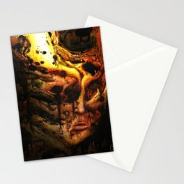 Old flame Stationery Cards